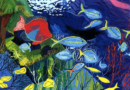 Colourful Fish Paintings